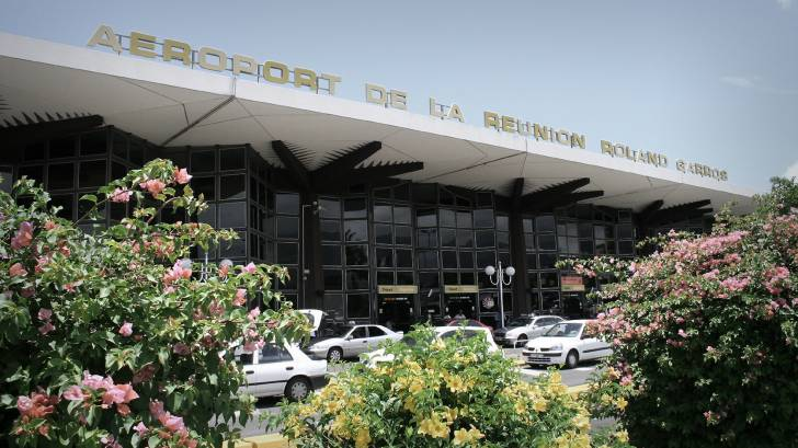 reunion island airport