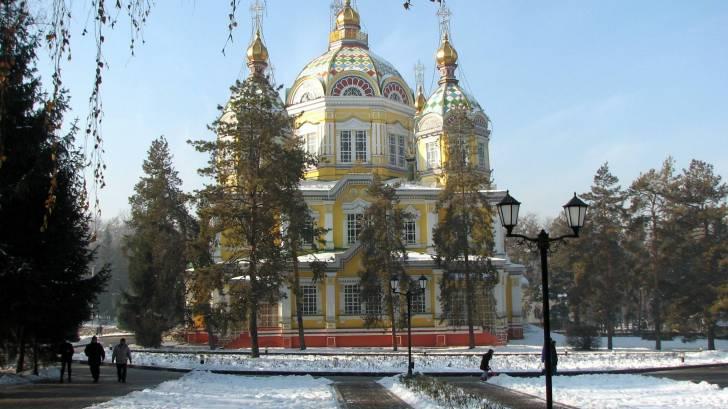 Almaty Kazakhstan cathedral
