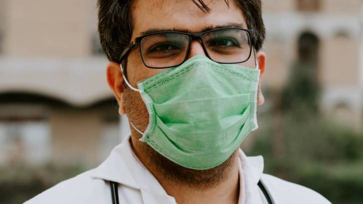 doctor with a mask on