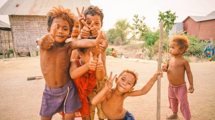 asian children