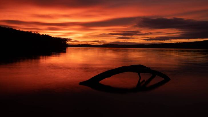 Australia beach sunset