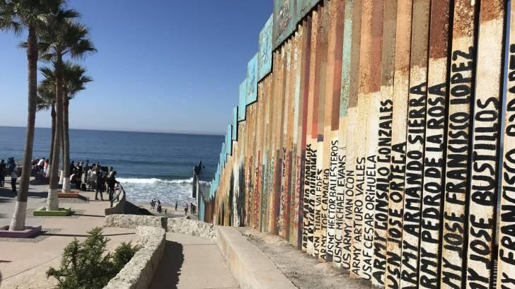 Tijuana border wall