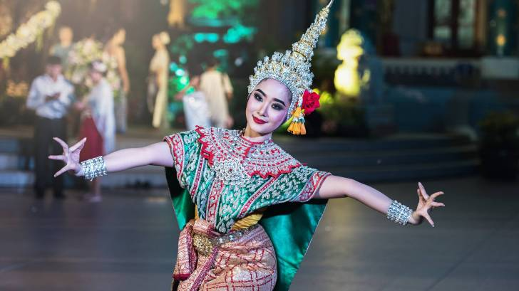 thailand dancer