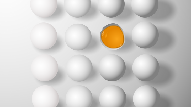 eggs vs cells