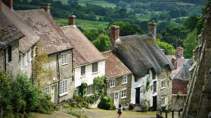 old england town