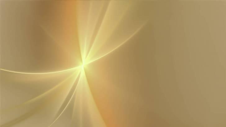 gold fractual light