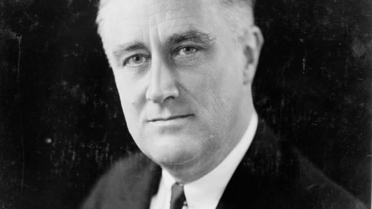 photo of president FDR