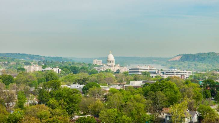 little rock arkansas capital of the state