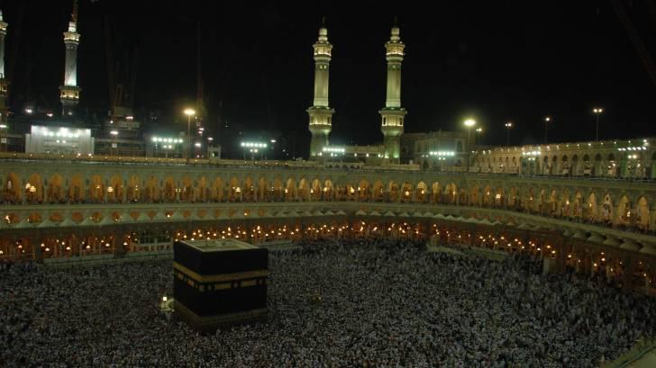 the hajj, mecca