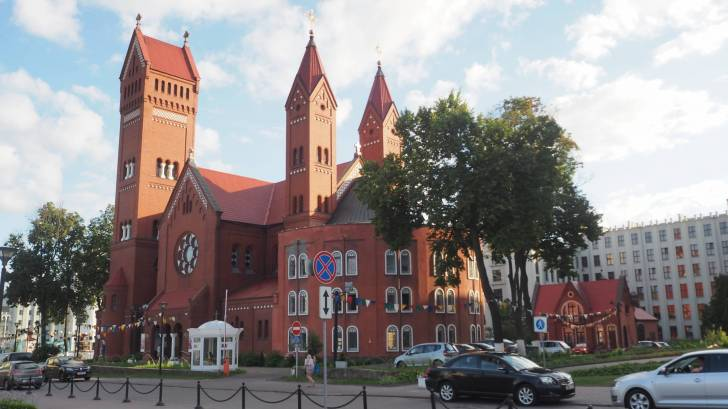 minsk red church