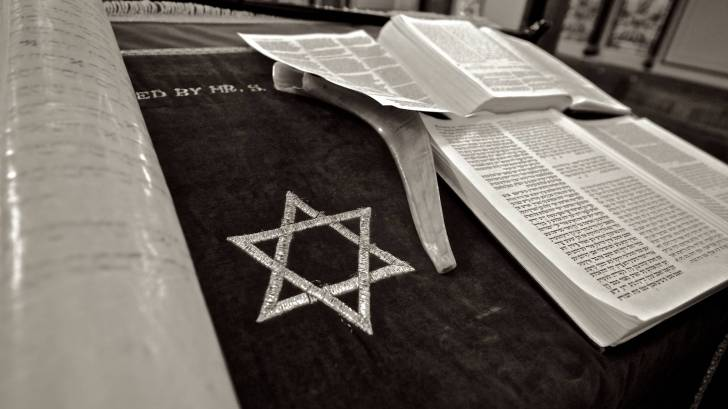 star of david and the bible