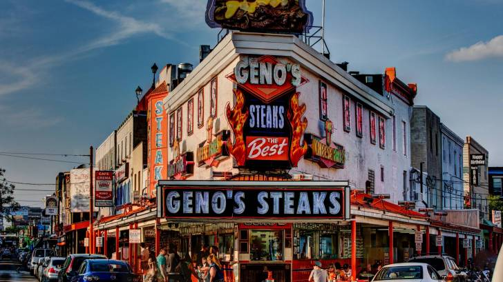 geno's steaks store front