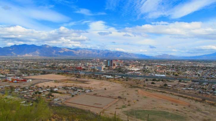 tucson arizona city scape