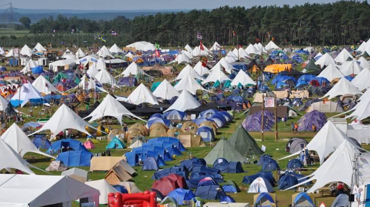 jamboree camp site