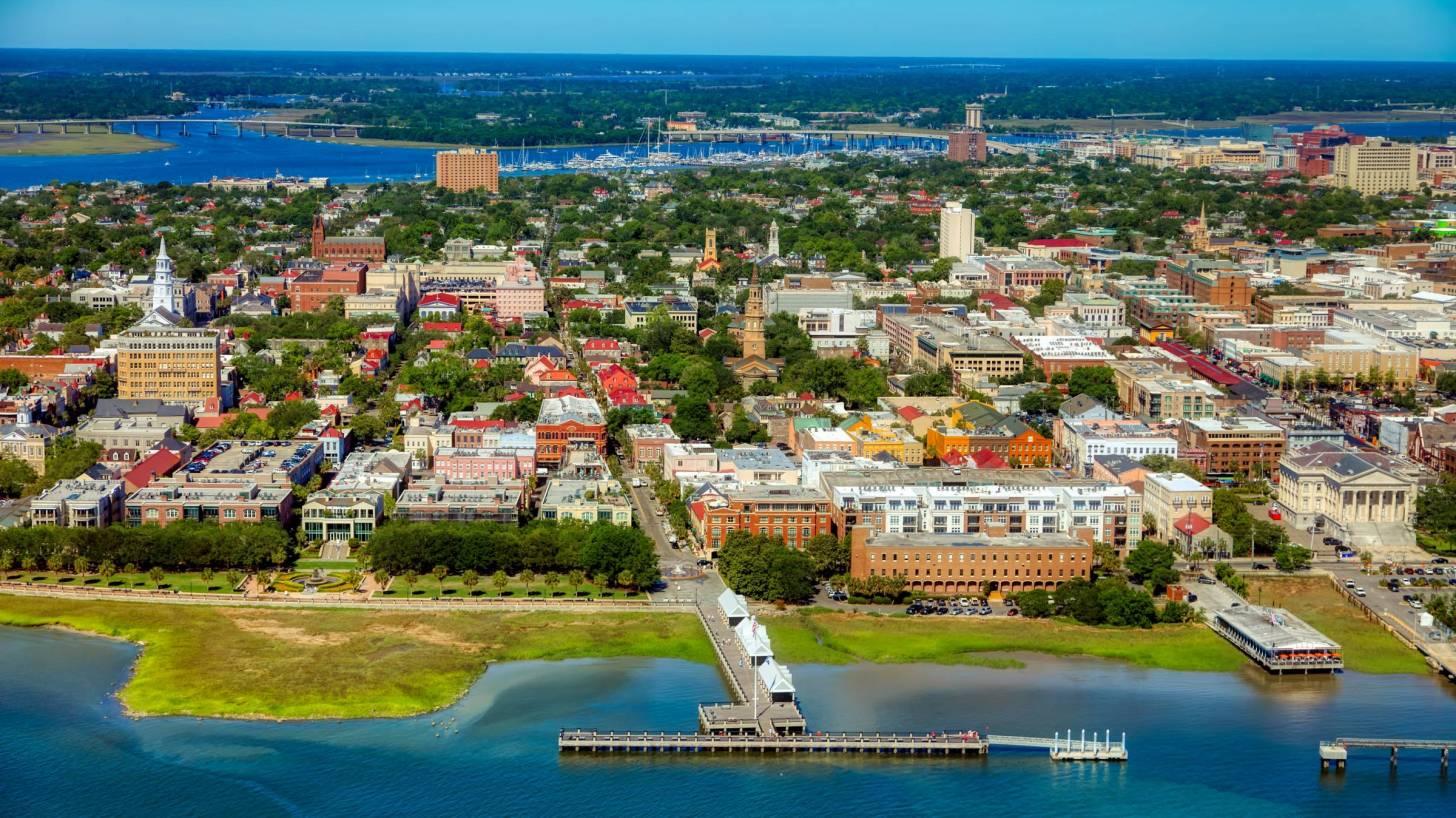 Charleston sc city view