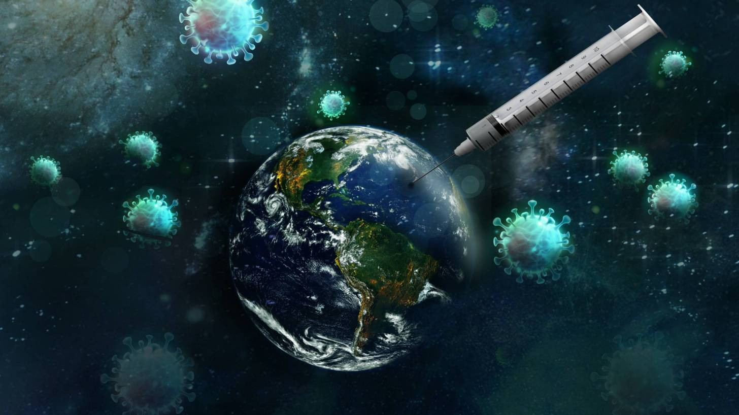 vaccinating the world from COVID