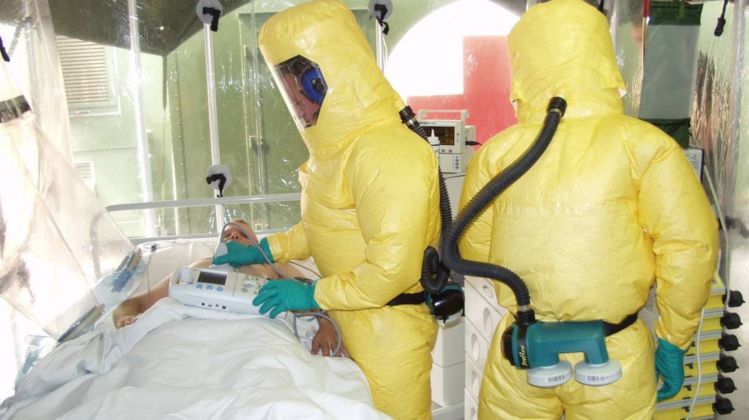 Ebola unit ready for an outbreak