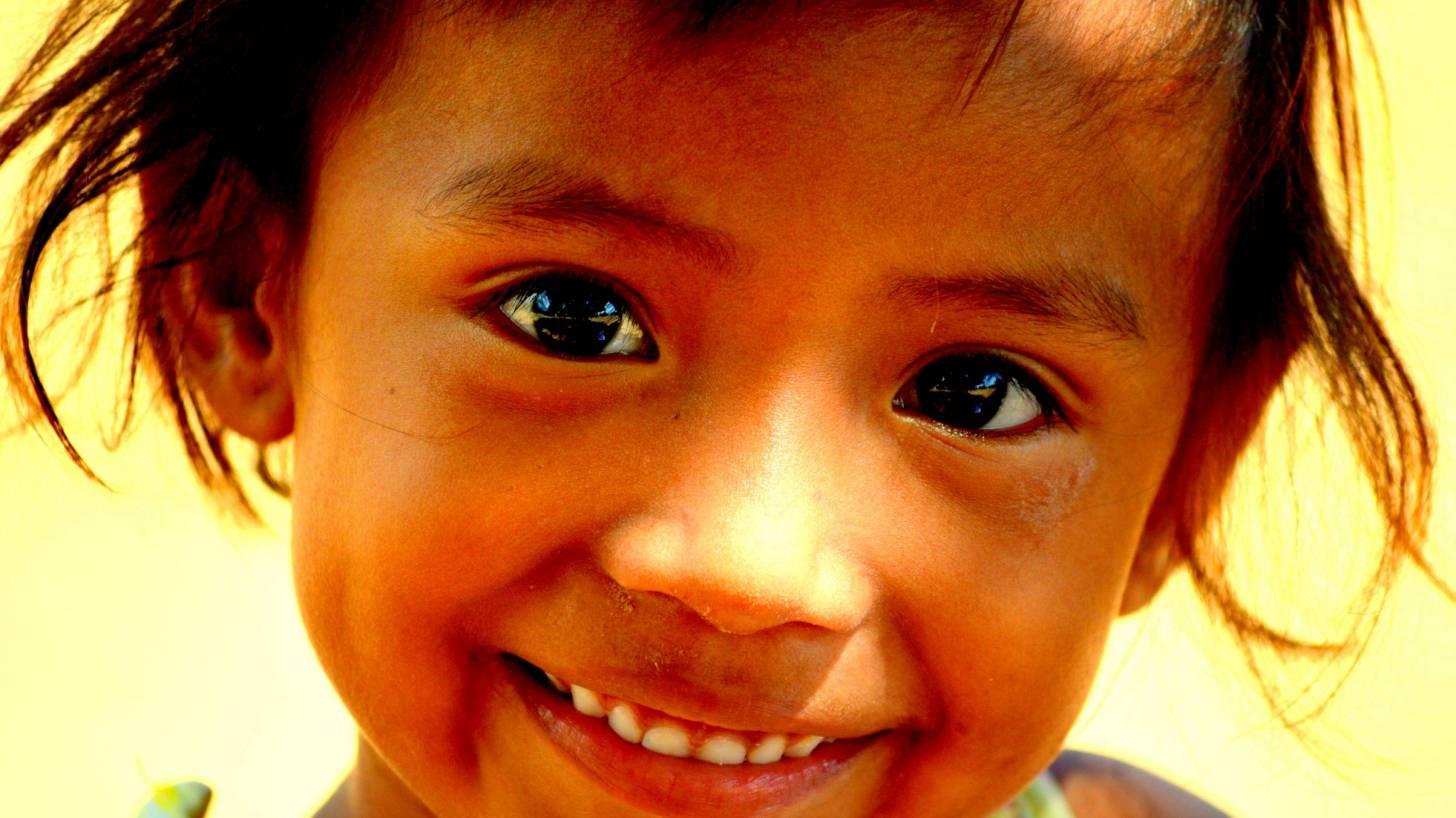 Smiling happy girl
