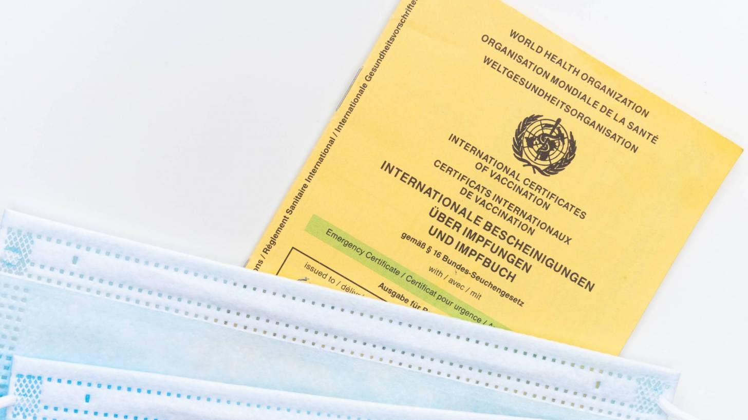 example of vaccine passport from the EU