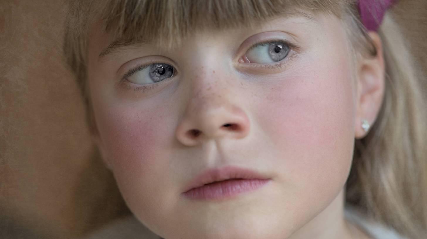 little girl nose
