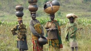 women in africa working