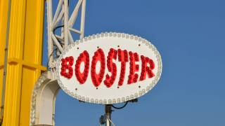 booster sign