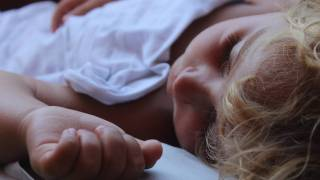 young child sleeping