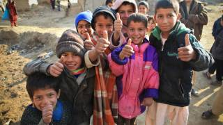 young afghanistan children