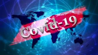 covid-19 image over the world