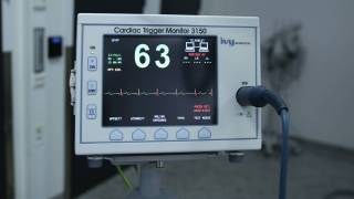ekg equipment in a hospotal