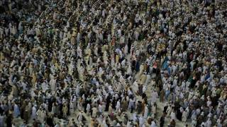 hajj crowds