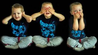 triplets, hear, see , speak no evil