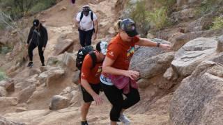 arizona hiking in the hills