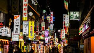 Korea night life