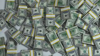 packs of 100 $ bills
