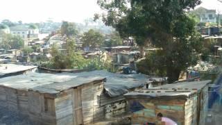 poor african city