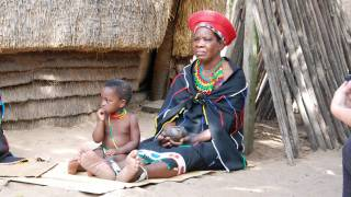 africa woman and chldren