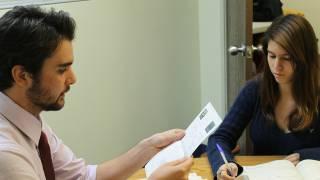 college student tutor