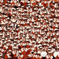 UT band at a football game