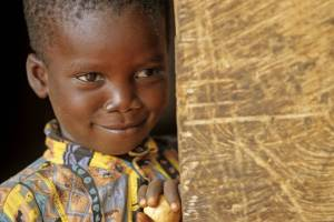 young boy in ghana