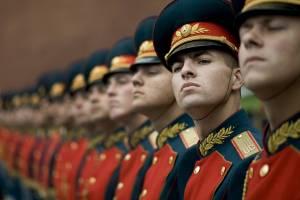 russian honor guard