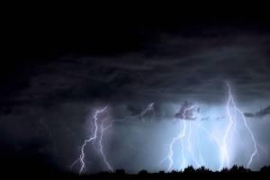 arizona lightening storms