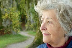 older woman healthy