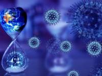depiction of coronavirus