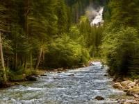 stream going thru woods